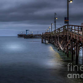 Fishing Pier Goleta California by Mitch Shindelbower