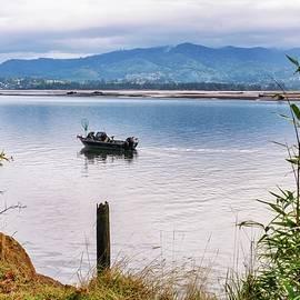 Fishing - Tillamook Bay - Oregon by Beautiful Oregon