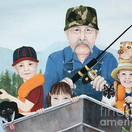 Fishing With Grandpa by Danett Britt