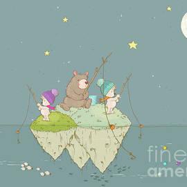 Fishing with Grandpa by Sandra Clark