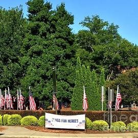 Flags for Heroes by Eunice Warfel