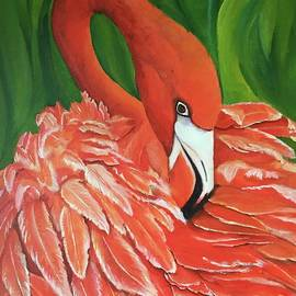Flamingo  by Wanda Ramos