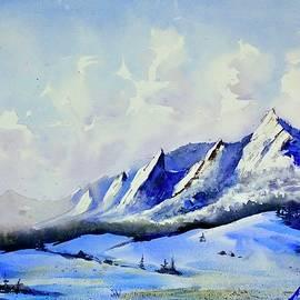 Flatirons Winter by Max Good