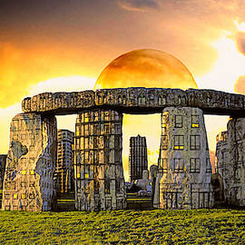 Flint Stone Henge by John Haldane