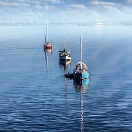 Floating in the Misty Sea by Debra and Dave Vanderlaan
