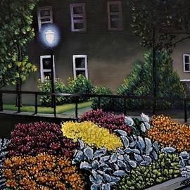 Floral Bridge by Nathan Katz