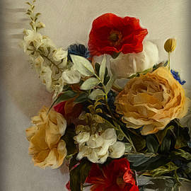 Floral Dream - Photo Painting by Barbara Zahno