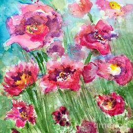 Floral Frenzy  by Angela Haig-Harrison