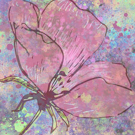 Floral Splatter by Rosalie Scanlon