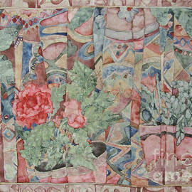 Floral Still life Abstract by Kim Tran