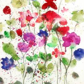 Floral Tempo by Mehwish Kamran