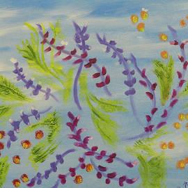 Floral Twists by Meryl Goudey