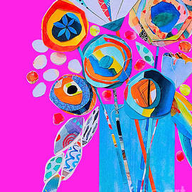 Florally A Still Life Collage by Terri Price