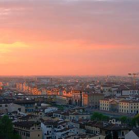 Florence at Sunset by Yaroslav Kalinin