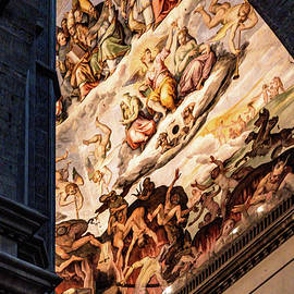 Florence Duomo Frescoes by Andrew Cottrill