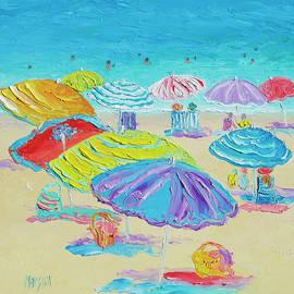 Florida Beach Umbrellas by Jan Matson