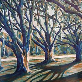 Florida Morning Oaks by Tanya Hough