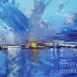 Florida Skies by Laura Lee Zanghetti
