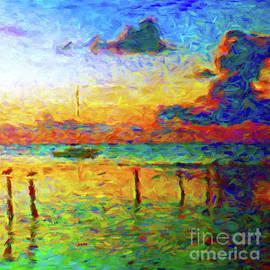 Florida Sunset by Jerome Stumphauzer