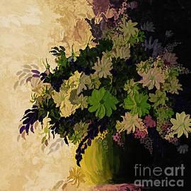 Flower Arrangement. by Trudee Hunter