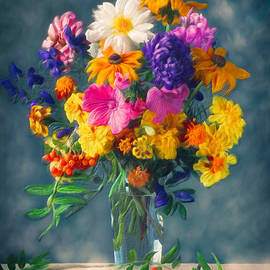 Flower Feast by Omid Gohardani