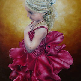 Flower Girl by Ashley Koebrick Schmidt