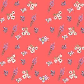 Flower Harmony Pattern by Johanna Hurmerinta