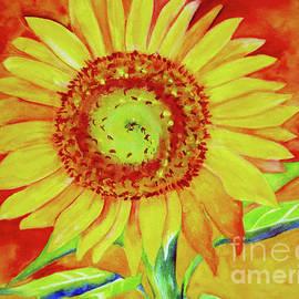 Sun Flowers In The Sunset by Janie Easley Ballard