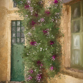 Flowered Entrance by Mary Timman