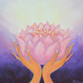 Flowering Light by Asha Carolyn Young