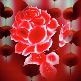 Flowermagic - China art by Walter Zettl