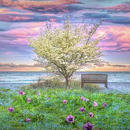 Flowers at the Dunes by Debra and Dave Vanderlaan