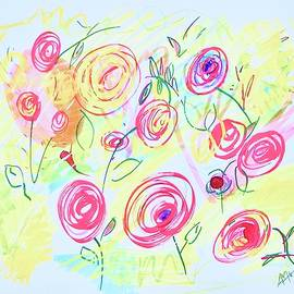 Flowers for Sunny by Alida M Haslett