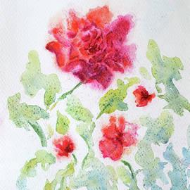 Flowers from my garden 1 by Uma Krishnamoorthy