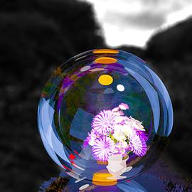 Flowers In A Bubble