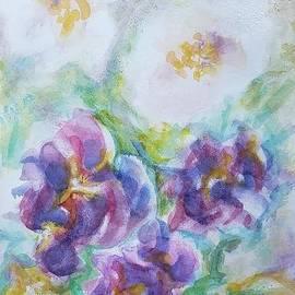 Flowers in a mirage by Olga Malamud-Pavlovich