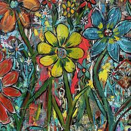 Flowers in a Vacant Lot by Stephen Harrelson