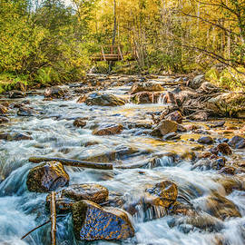 Flowing Fall by Nathan McDaniel
