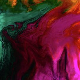 Fluid Magenta by Grace Iradian