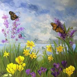 Fluttering By by Anne Barberi