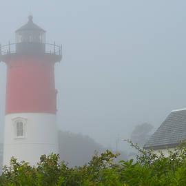 Fog - Cape Cod Lighthouse by Dianne Cowen Photography