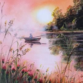 Fog on the river by Vesna Martinjak