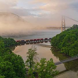 Foggy Crossings by Angelo Marcialis