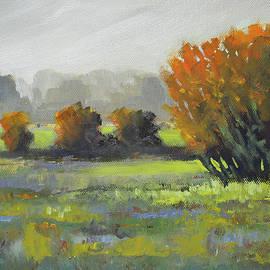 Foggy Morn by Nancy Merkle