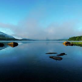 Foggy Morning at Eagle Lake by Benjamin Roberts