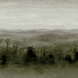 Foggy Mountain View by Susan Hope Finley