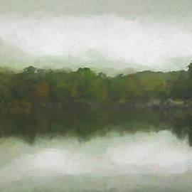 Foggy Panorama Reflection by Francis Sullivan