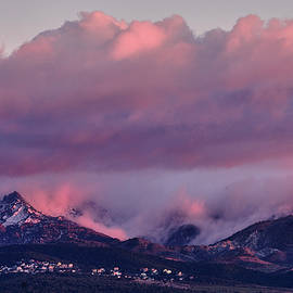 Foggy sunset. Alayos Mountains. Sierra Nevada National park  by Guido Montanes Castillo