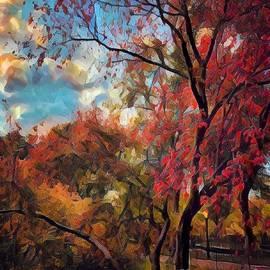 Foliage of Fall by Miriam Danar