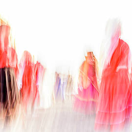 Folk Dancers by Lucy Brown